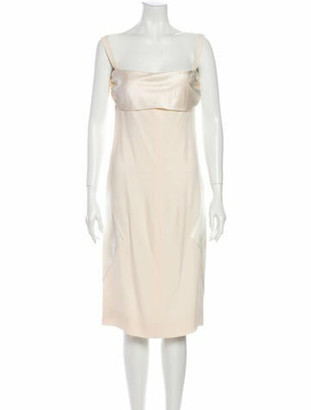 Valentino Silk Midi Length Dress
