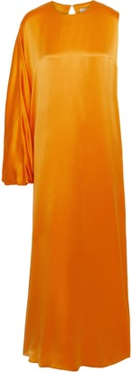 Roksanda One-shoulder Silk-satin Crepe Gown