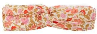 Zimmermann Floral-print Cotton Headband - Womens - Pink