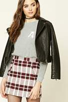 Forever 21 FOREVER 21+ A Letter Graphic Sweatshirt