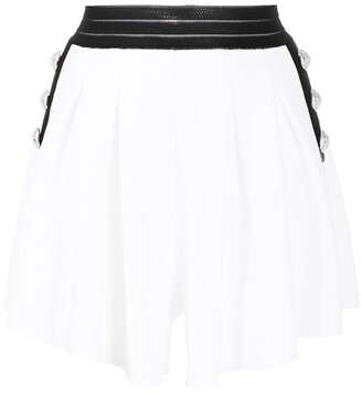 Balmain Button-Embellished Shorts
