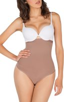 Tall Silicone-Lined High-Waisted Shaper Thong Style.