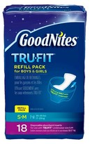 Huggies GoodNites* Tru-Fit* Real Underwear Disposable Inserts Refill Pack (Select Size)
