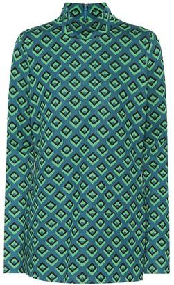 Diane von Furstenberg Jacquard knit top