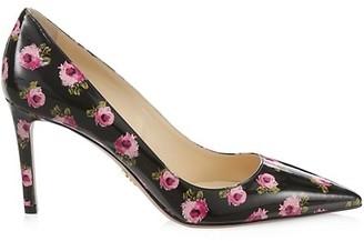 Nylon Canvas All Over Print Flowers High Heel Shoes Custom Boho Bohemian Floral High Heel Shoes 3 Inch Pumps Shoes Women/'s High Heels