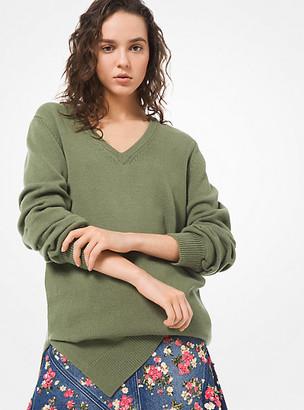 Michael Kors Cashmere Asymmetric Sweater