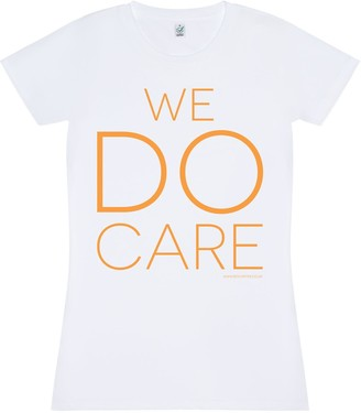 Bo Carter We Do Care T-Shirt (White)