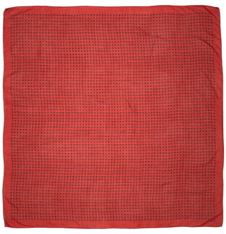 Saint Laurent Star Print Wool Scarf