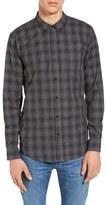 Ezekiel Men's Westmont Trim Fit Plaid Woven Shirt