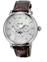 Adee Kaye Men's Multi Function 46.42mm Steel Case Automatic Watch Ak2242-M/Sv
