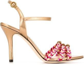 Etro Braided Strap Sandals