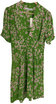 Faithfull The Brand Green Cotton Dresses