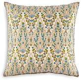 "John Robshaw Lina Peacock Decorative Pillow, 20"" x 20"""