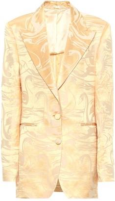 Acne Studios Swan silk jacquard blazer
