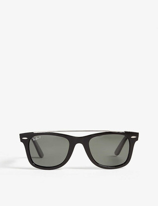 Ray-Ban Rb4540 polarised square-frame Wayfarers