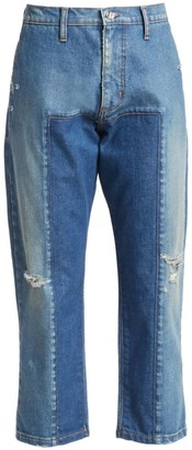 TRE by Natalie Ratabesi The Roma High-Rise Straight-Leg Jeans