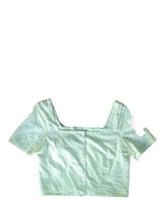 Paloma Wool Green Cotton Tops