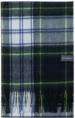 The Tartan Blanket Co. Lambswool Oversized Scarf In Gordon Dress Tartan