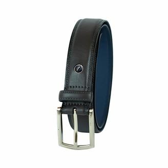 Nautica Men's Belt with Dress Buckle and Stitch Comfort