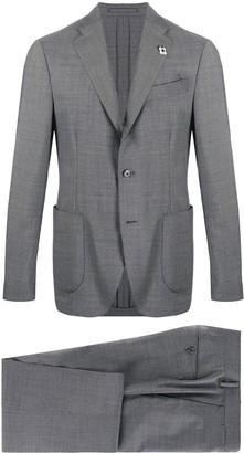 Lardini Single Breasted Two-Piece Suit