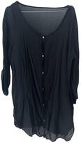 American Vintage Black Cotton Dress for Women