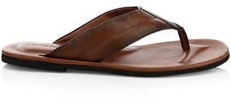 To Boot Leather Thong Sandals