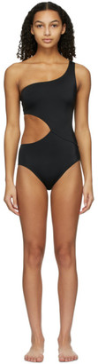 Solid and Striped Black The Claudia One-Piece Swimsuit