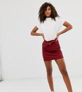 Only Tall mini denim skirt