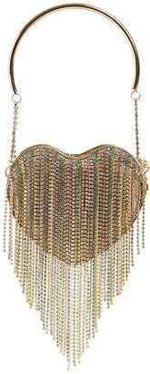 Rosantica Kate Crystal Shoulder Bag W/ Fringe
