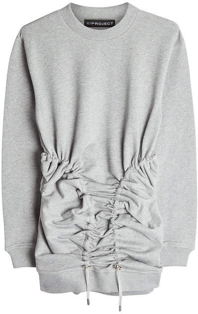 Y/Project Corset Cotton Sweatshirt