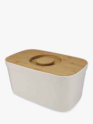 Joseph Joseph Bread Bin with Bamboo Wood Cutting Board Lid