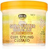 African Pride Shea Butter Miracle Moisture Intense Curl Styling Custard 12 oz (Pack of 11)