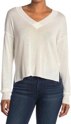 NSF Keva Tissue V-Neck Sweater
