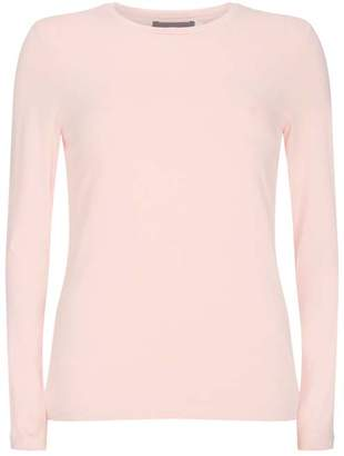Mint Velvet Blush Long Sleeved T-Shirt