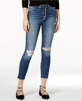 Joe's Jeans Charlie Ripped Button-Fly Jeans
