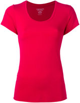 Majestic Filatures scoop neck T-shirt - women - Spandex/Elastane/Viscose - IV