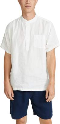 Onia Anthony Linen Pullover Shirt