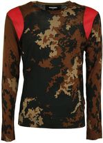 DSQUARED2 Camouflage Print Sweater