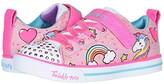 Twinkle Toes Sparkle Lite 10988L Lights (Little KidBig Kid) (Light PinkMulti) Girl's Shoes