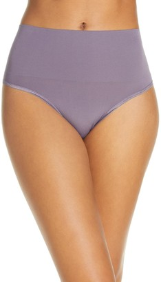 Yummie by Heather Thomson Ultralight High Waist Seamless Shaping Thong