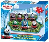 Ravensburger Thomas & Friends: Sodor Friends Shaped Floor Puzzles - 24 Pieces