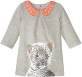Billieblush Sweat Dress With Graphic (Baby) - Heather Grey - 18 Months