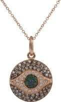 Ileana Makri Women's Diamond, Tsavorite & Sapphire Dawn Pendant Neckla