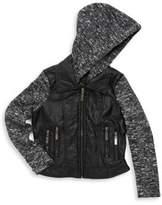 Joujou Girl's Hooded Jacket