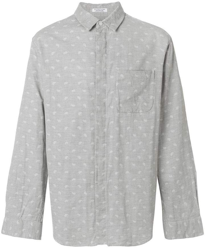 Engineered Garments paisley print shirt