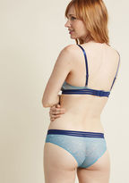 ModCloth Living for Lovely Lace Panties in M