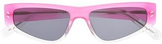 Stella McCartney Rectangular Frame Sunglasses