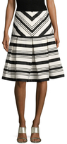 Alexis Emmerson Striped A Line Skirt