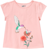 Crazy 8 Strawberry Cream Hummingbird Tee - Infant & Toddler