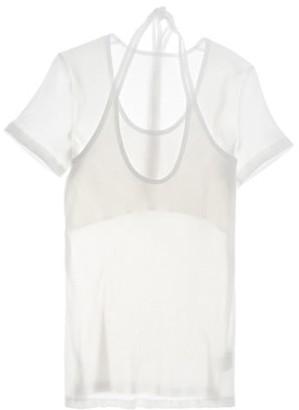 Helmut Lang Layered Halter T-Shirt